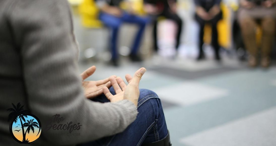 group of patients in addiction treatment